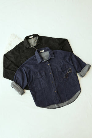 Denim Jacket 4081 - ample-couture