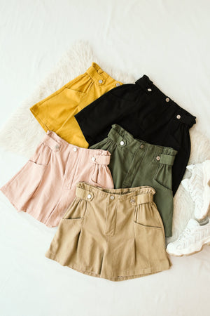 Flare Shorts 4117 - ample-couture
