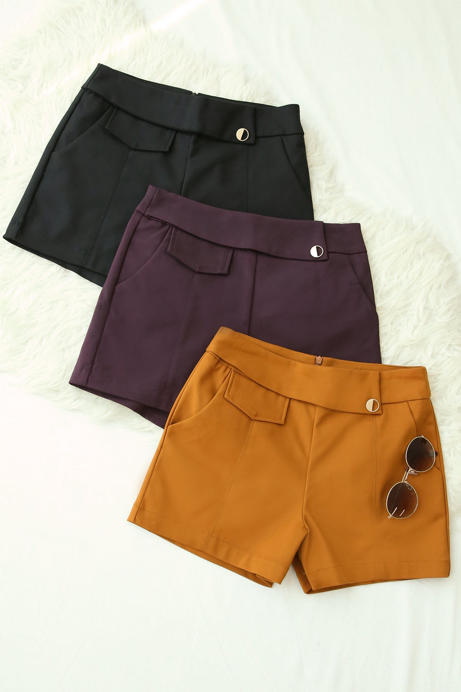 Flare Shorts 4176 - ample-couture