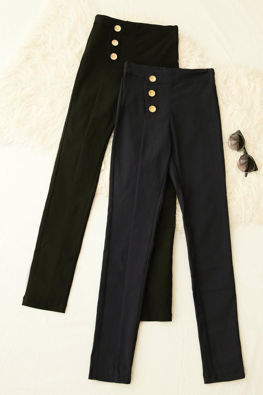 Button Pants 4182 - ample-couture