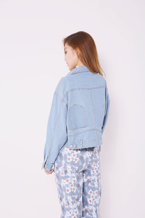 Denim Jacket 4682 - ample-couture
