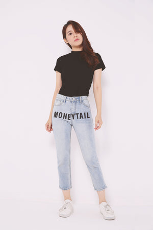 Moneytail Washed Jeans 4713 - ample-couture