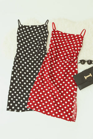 Polka Dot Dress 4723 - ample-couture
