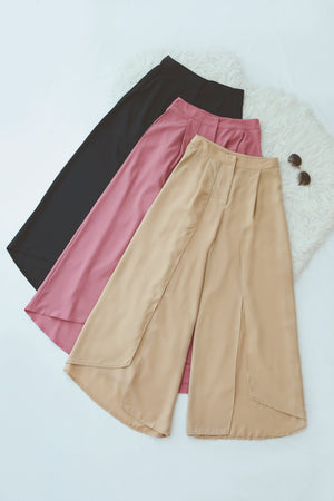 Overlay Wide Leg Pants 4770