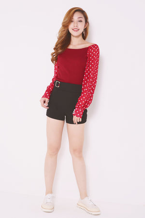 Polka Dot Top 4896 Tops