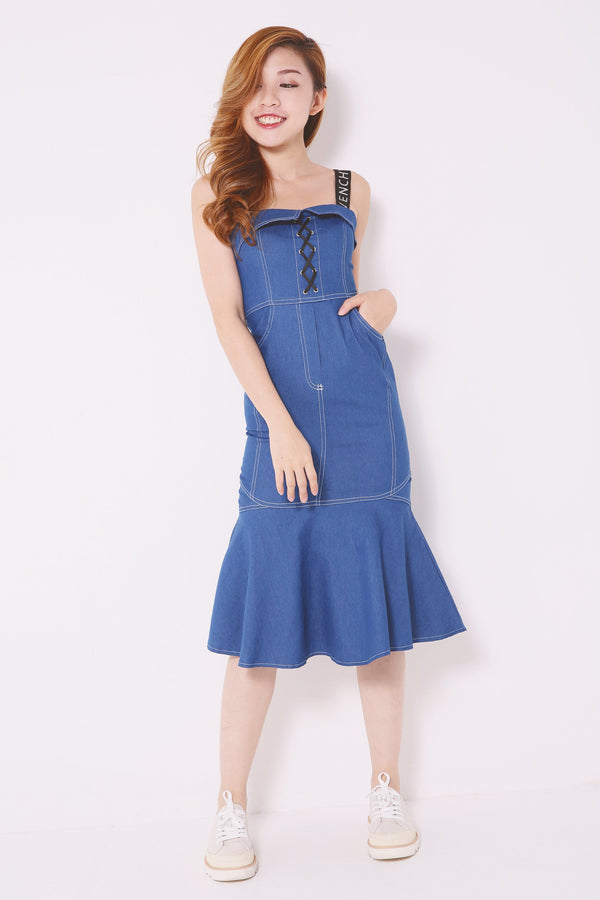 Denim Dress 4919