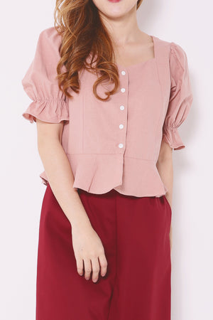 Button Down Blouse 4931