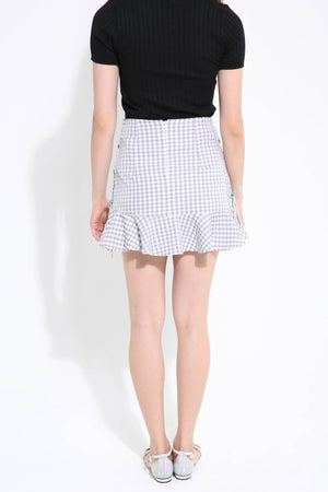 Checker Skirt Pant 1107 - Ample Couture
