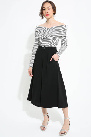 Stripe Top with Pant 1123