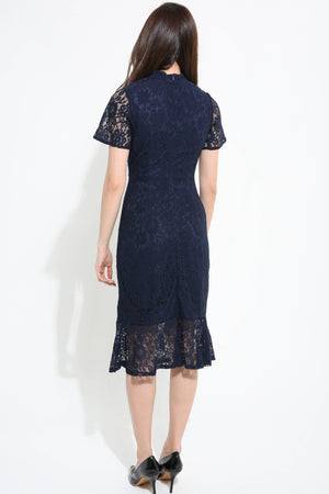 Cheong Sam Lace Dress 1147 - Ample Couture