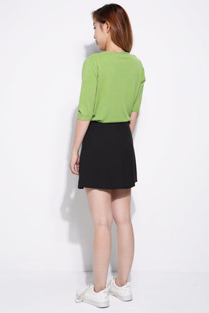 Knife Pleated Skirt 5056