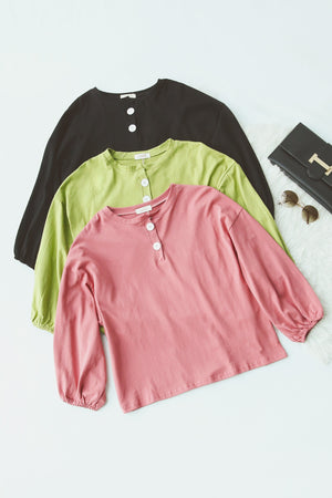 Button Blouse 5026
