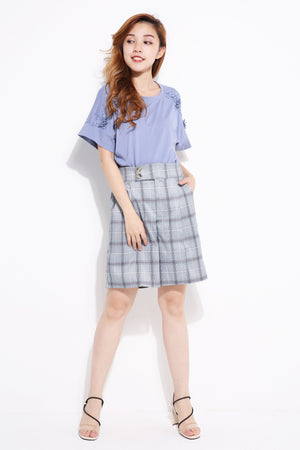 Checker Short Pants 5110