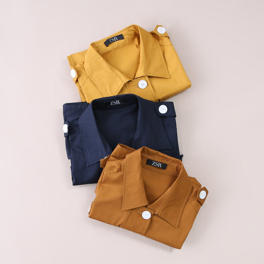 Front Button Top 5250