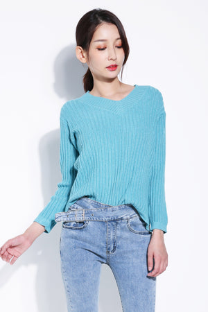 Long Sleeve Knit Top 5386