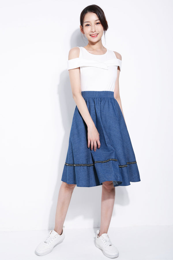 Denim Skirt 5448