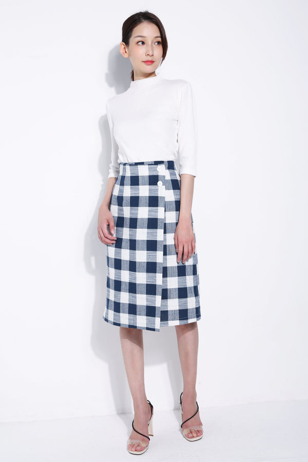 Checker Skirt 5453