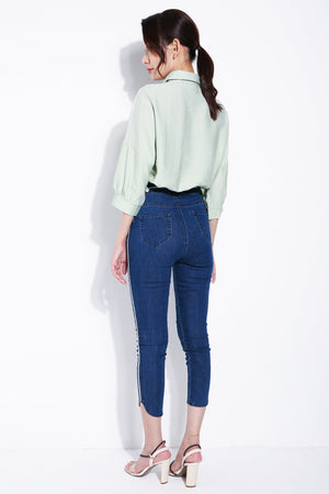 Denim Long Pants 5563