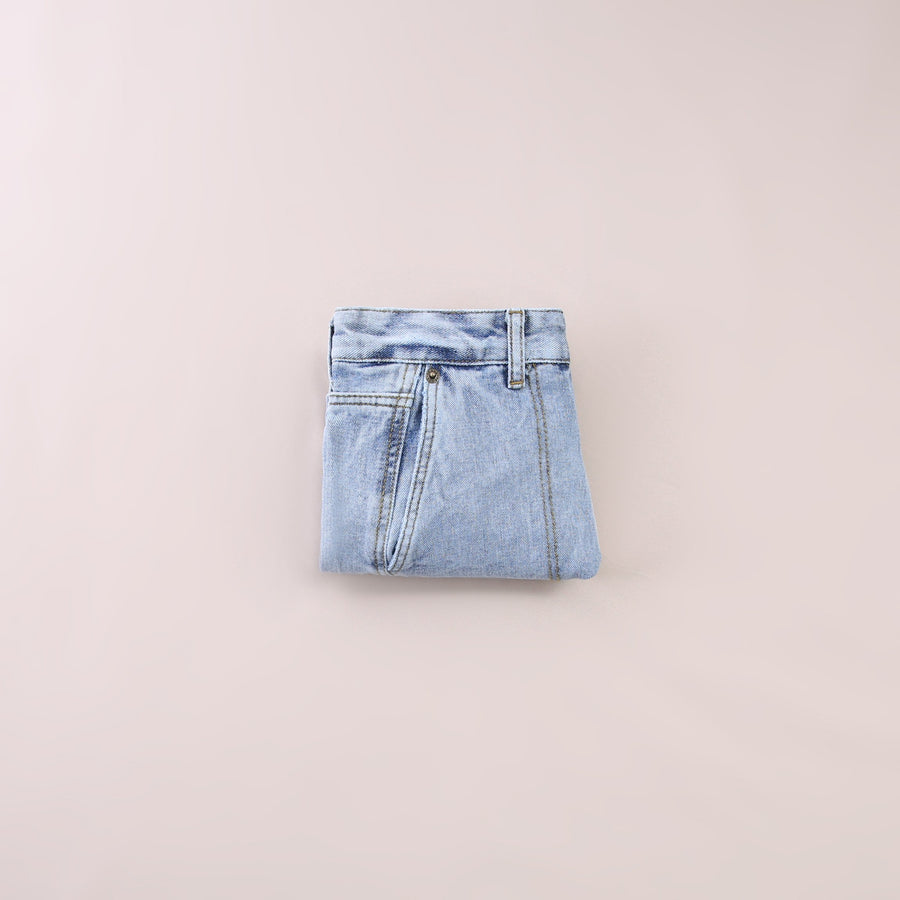 Denim Short Pants 5542
