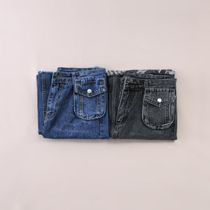 Denim Long Pants 5546