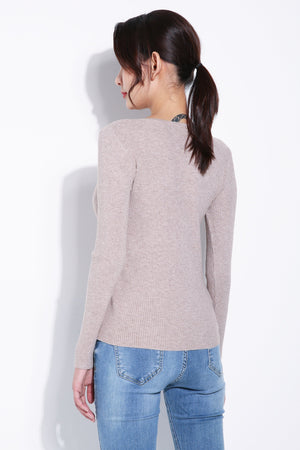 Long Sleeve Knit Top 5548
