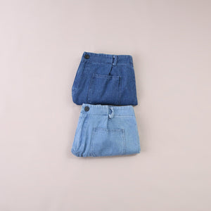 Denim Short Pants 5553