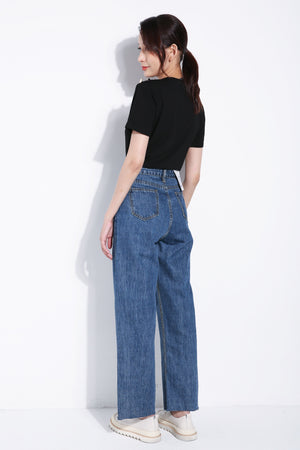 Denim Long Pants 5550