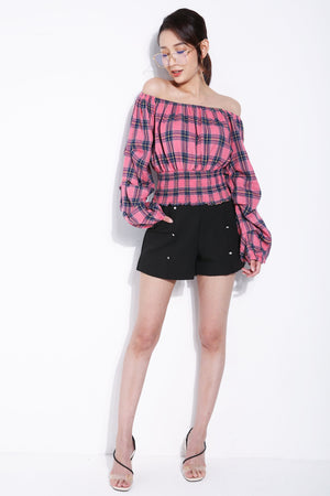 Pearl Button Short 5502