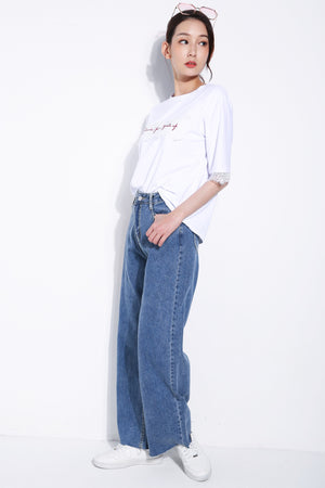 Denim Long Pants 5544
