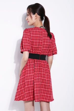 Checker Dress 5656