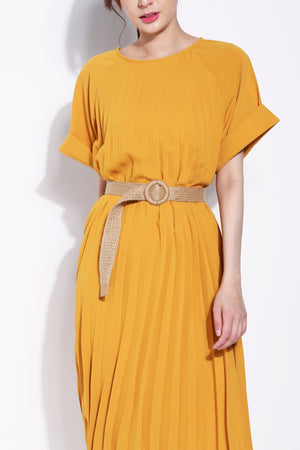 Pleated Dress 5663