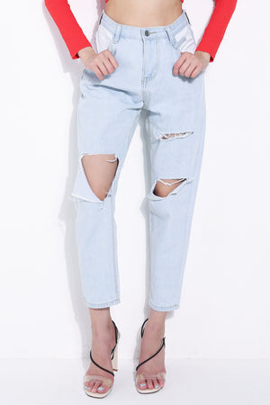 Denim Long Pants 5685