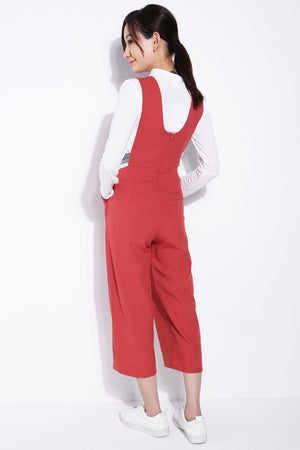 V-Neck Jumpsuit 5708