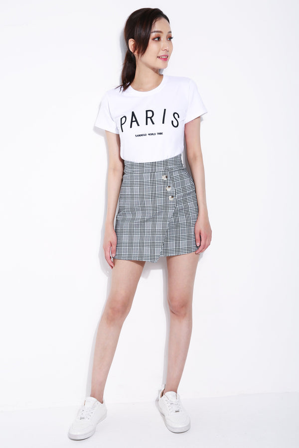 District Check Skirt 5707