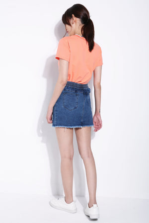 Denim Skirt 5722