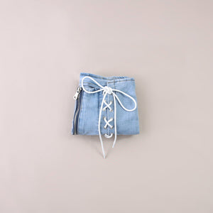 Crossline Denim Short Pants 5771