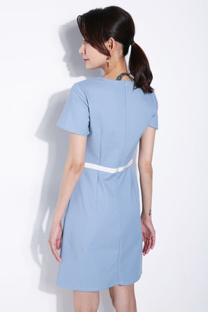 Side Button Dress 5784