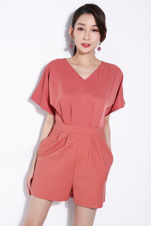 V-Neck Playsuit 5794