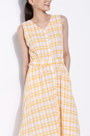 Checker Dress 5862