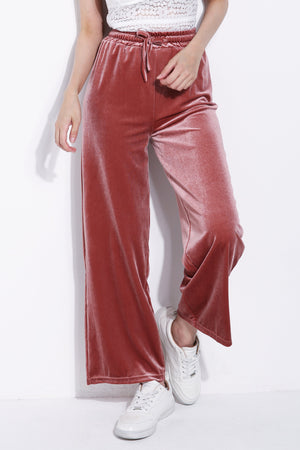 Velvet Long Pants 5955 Bottoms