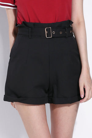 Paperbag Short Pants 5913
