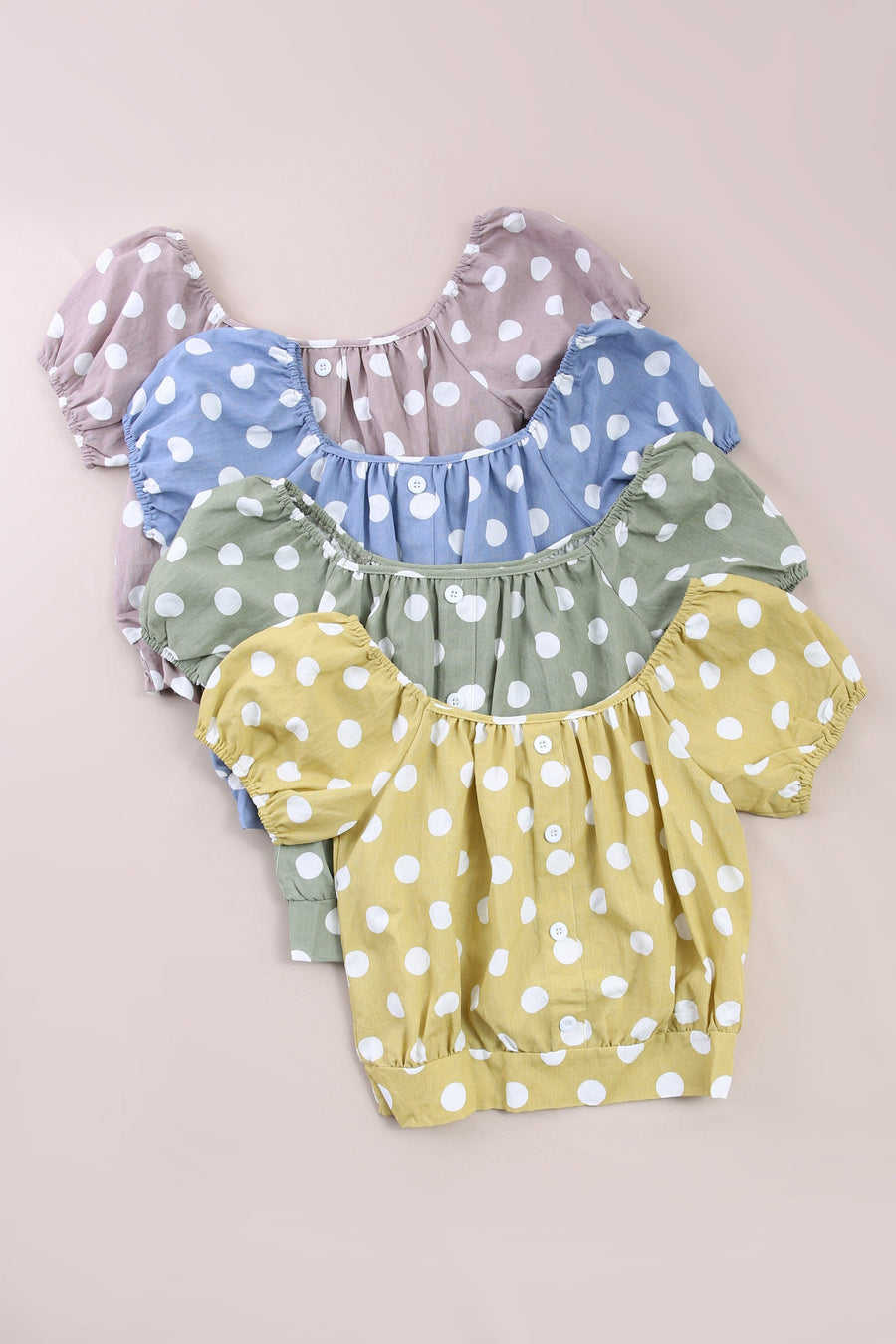 Polka Dot Top 6118 Tops