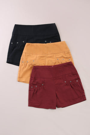 Front Pocket Short Pants 6120