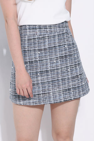 Checker Skirt 6148