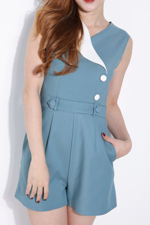 Sleeveless Playsuit 6197