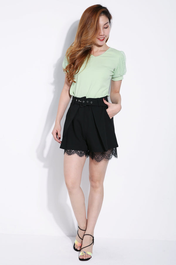 Bottomline Lace Short Pants 6300