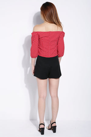 Polka Dot Top 6252 Tops
