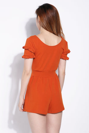 Plain Playsuit 6258