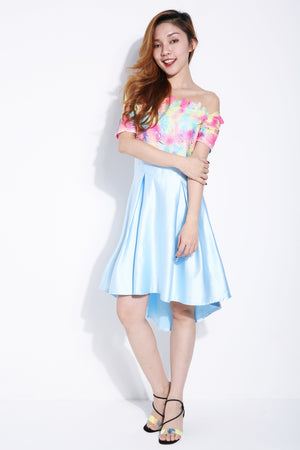 Watercolour Dress 6264
