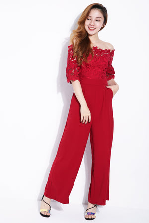 Half Sleeve Jumpsuit 6290